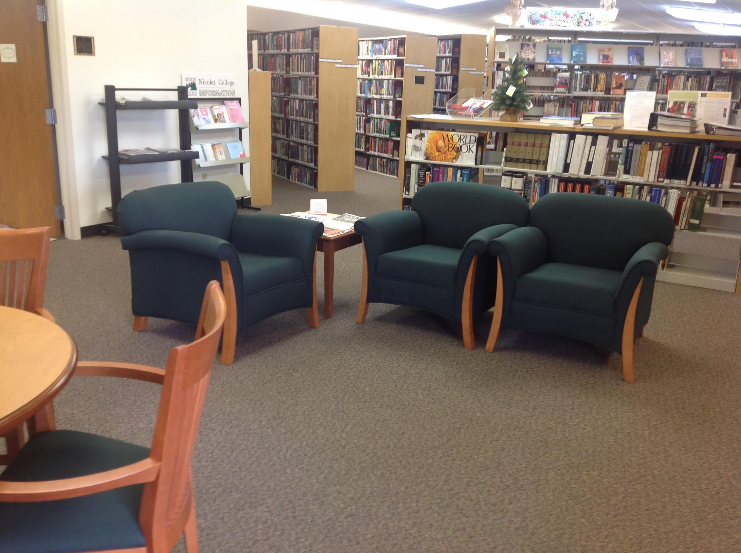 Adult Read Area
