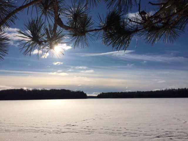 Winter Wisconsin River