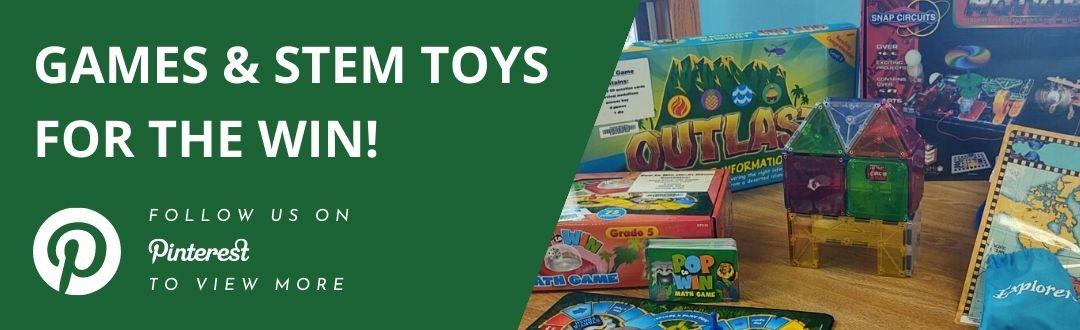 Gems and STEM Toys